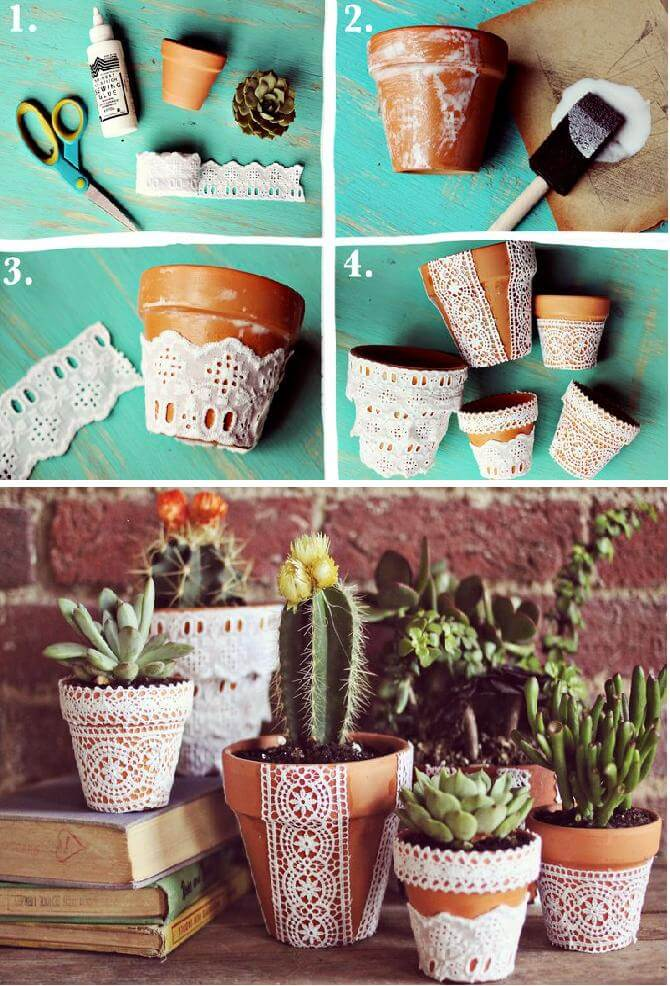 Cute DIY Flower Pots Ideas to Beautify Your Home-homenosy