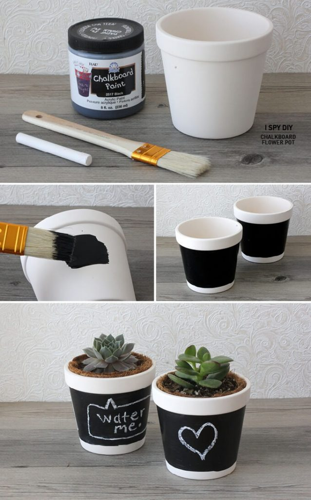 Cute DIY Flower Pots Ideas to Beautify Your Home