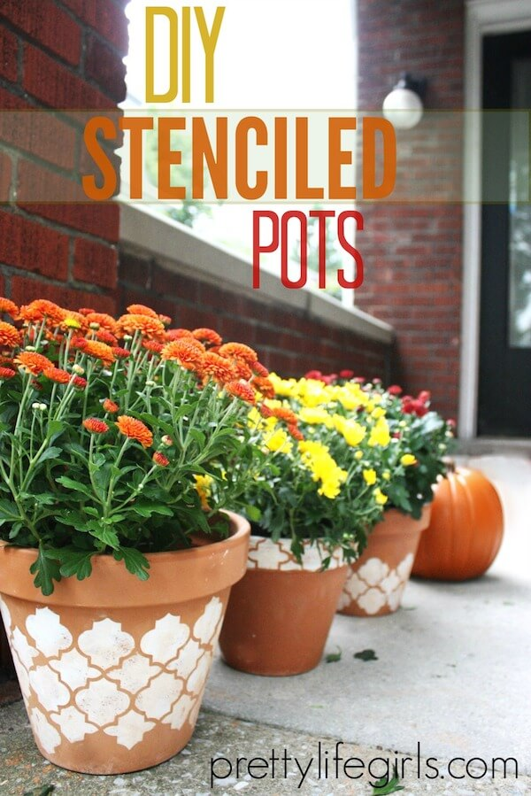 08-Cute DIY Flower Pots Ideas to Beautify Your Home-homenosy