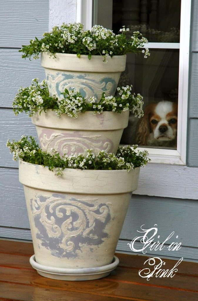 15-Cute DIY Flower Pots Ideas to Beautify Your Home-homenosy