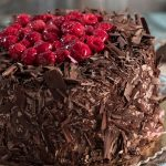 Chocolate mousse cake with dark and light chocolate (2)