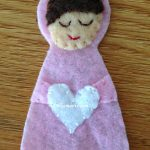 DIY Felt Angel Ornamnet (3)