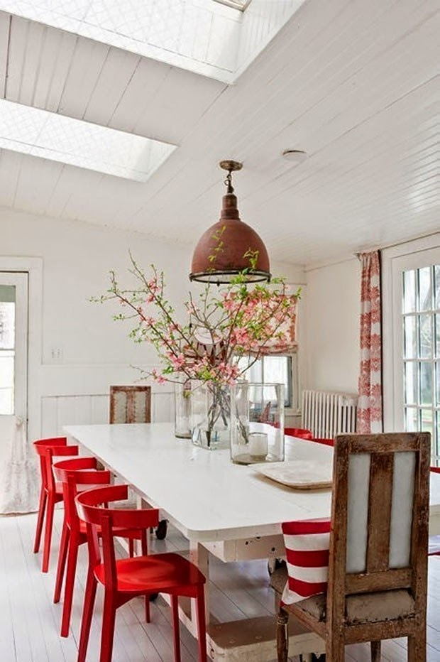 Decorating ideas for the dining room - create a place where you can spend a happy time