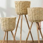 Low cost ideas for decoration, wicker (10)
