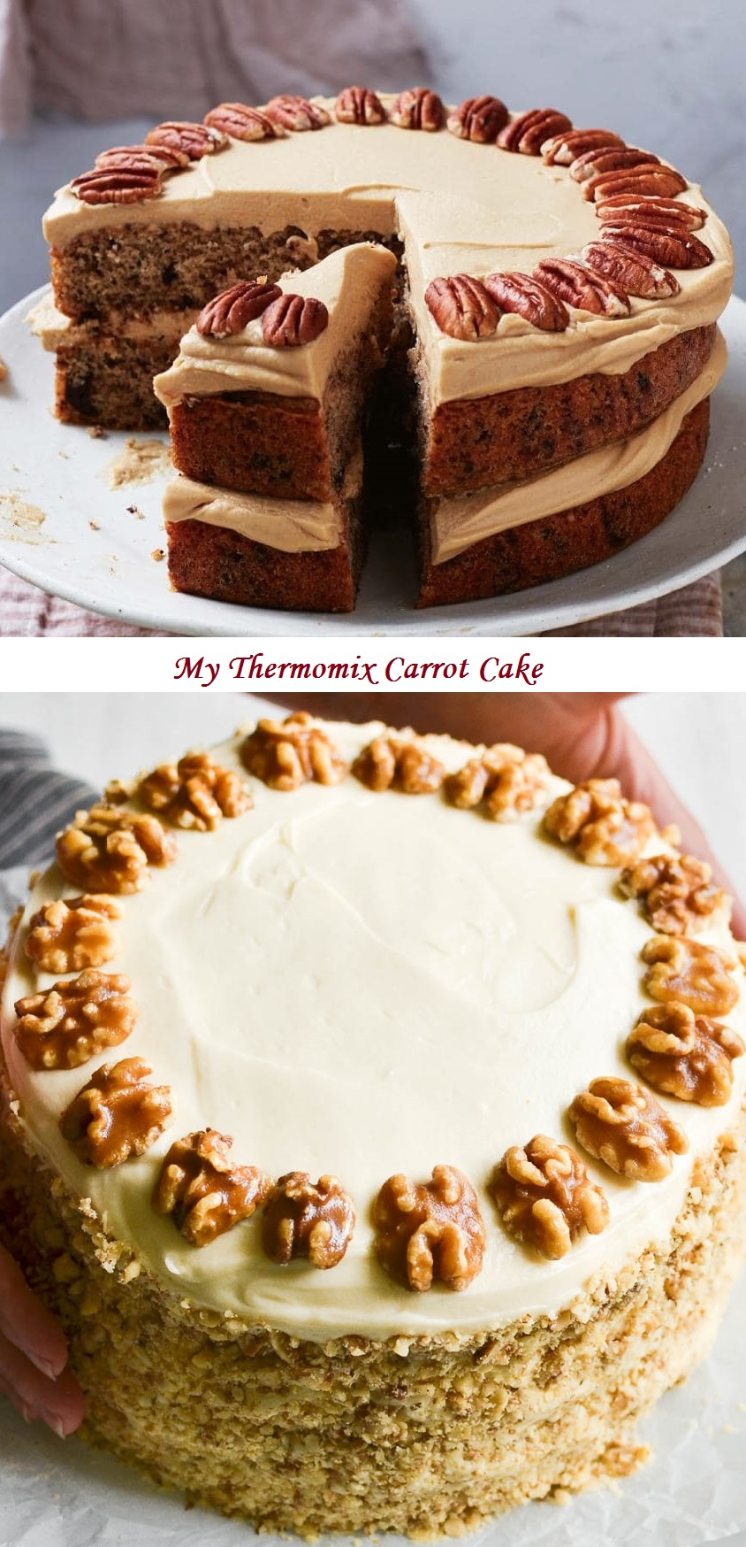 My Thermomix Carrot Cake