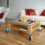The most beautiful coffee table models made of wood (22)