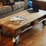 The most beautiful coffee table models made of wood (25)