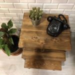 The most beautiful coffee table models made of wood (35)