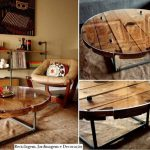 The most beautiful coffee table models made of wood (6)