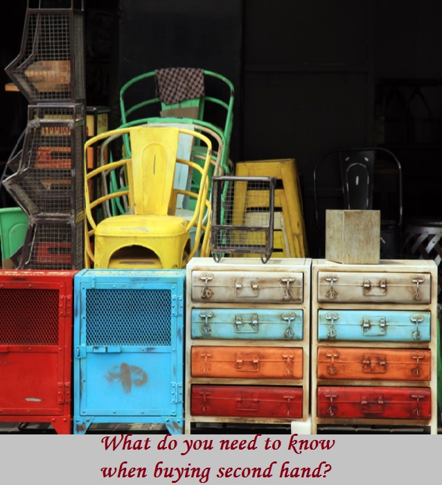What do you need to know when buying second hand
